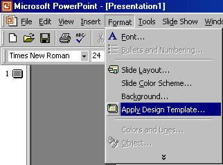 Microsoft powerpoint tutorial select apply design template toneelgroepblik Gallery